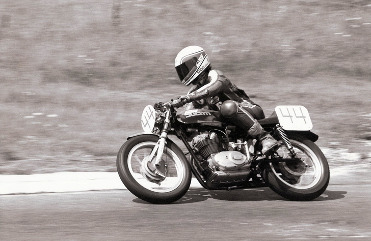 August 1981 - VRRA @ SMP - Open Production - 1st Place Colin Fraser - Ducati 250 Desmo