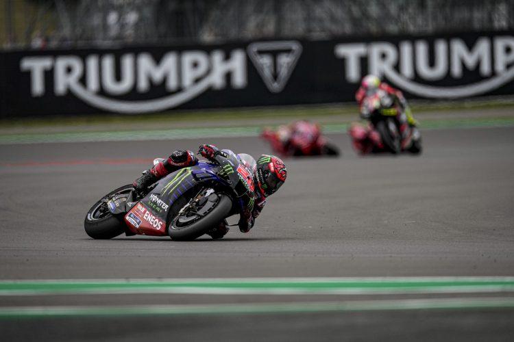 Monster Yamaha's Fabio Quartararo's Silverstone victory looks like an important step towards the 2021 MotoGP Title. CREDIT: Monster Energy Yamaha MotoGP